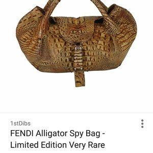 ff0d4625d154 Fendi Bags - FENDI Rare Alligator Spy Bag🥂